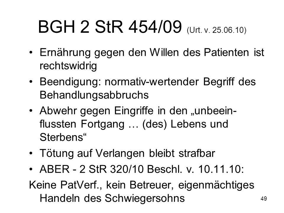 49 BGH 2 StR 454/09 (Urt. v.