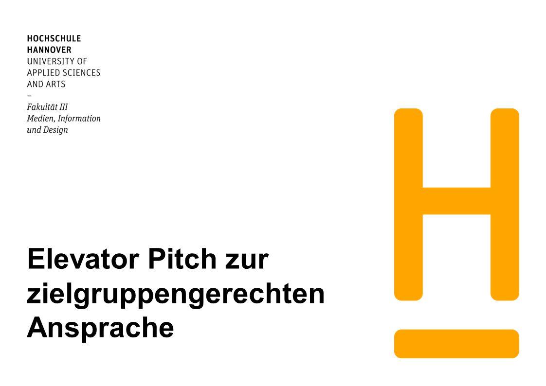 Hochschule Hannover Fakt.III, Abt. IK / Dr.
