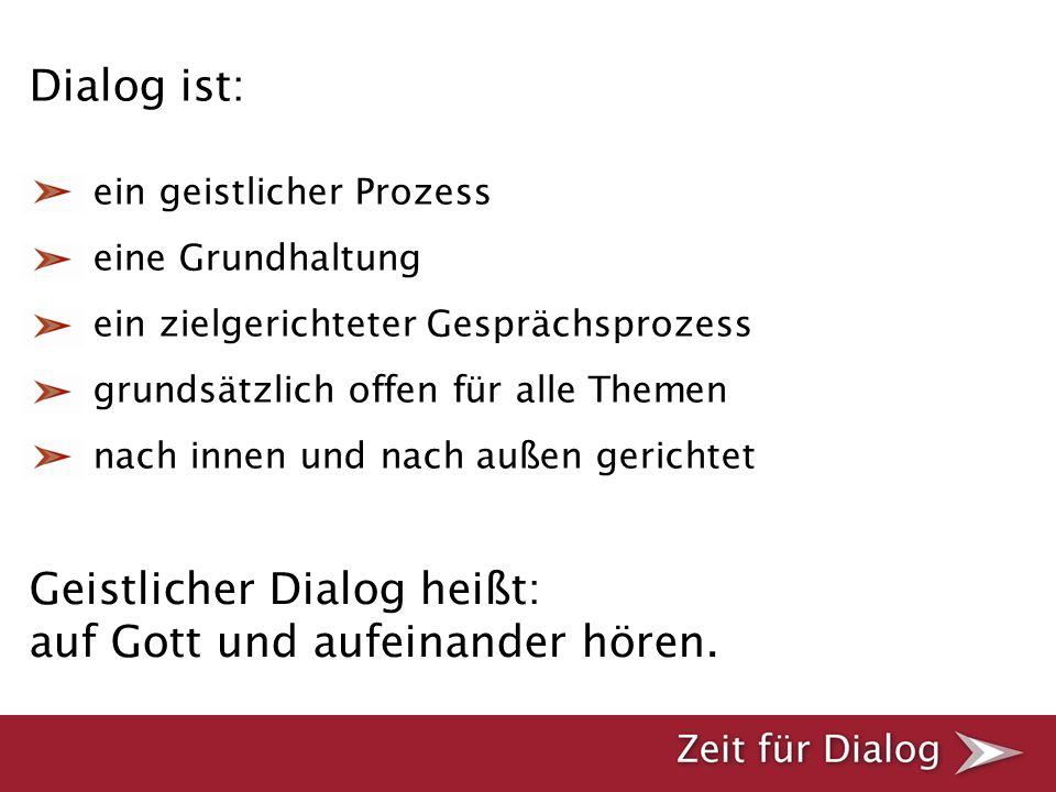 Rückmeldung Die Rückmeldung erfolgt über den Rückmelde-Button auf der Internet-Seite www.zeit-fuer-dialog.de.