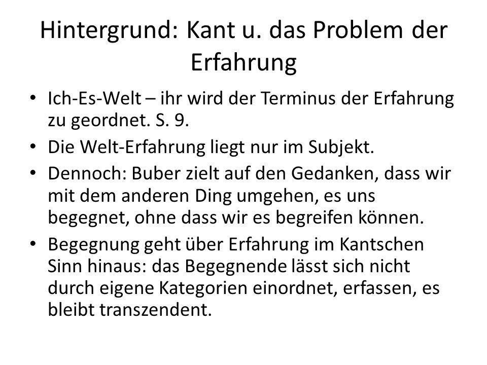 Hintergrund: Kant u.