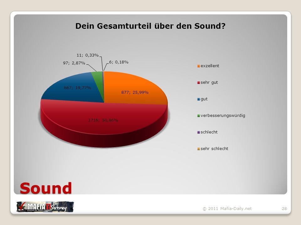 Sound © 2011 Mafia-Daily.net28