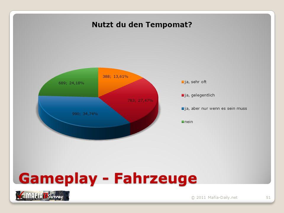 Gameplay - Fahrzeuge © 2011 Mafia-Daily.net51