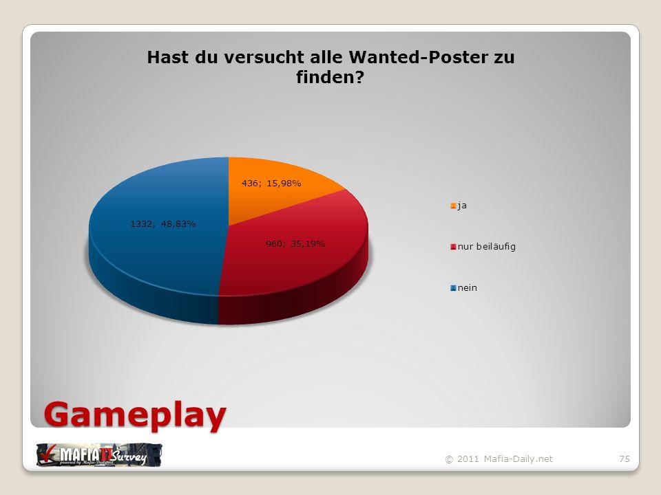 Gameplay © 2011 Mafia-Daily.net75