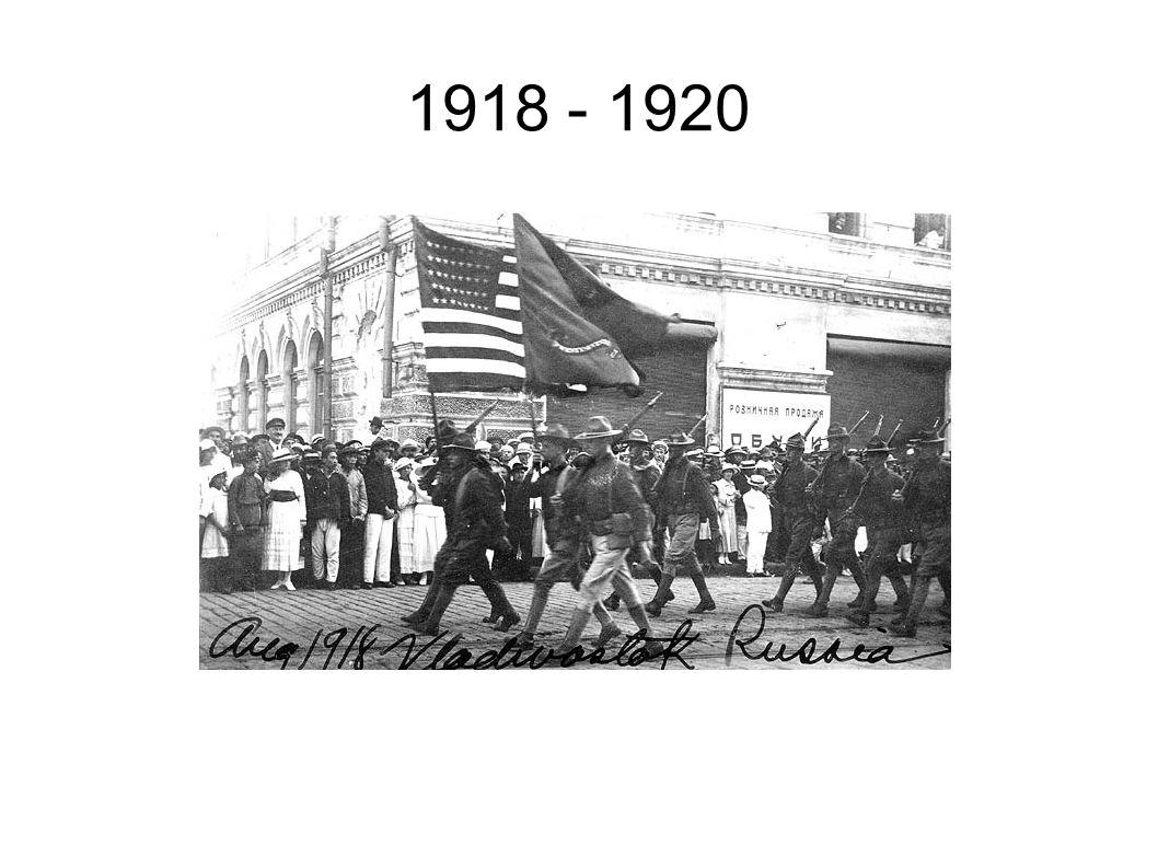 1918 - 1920