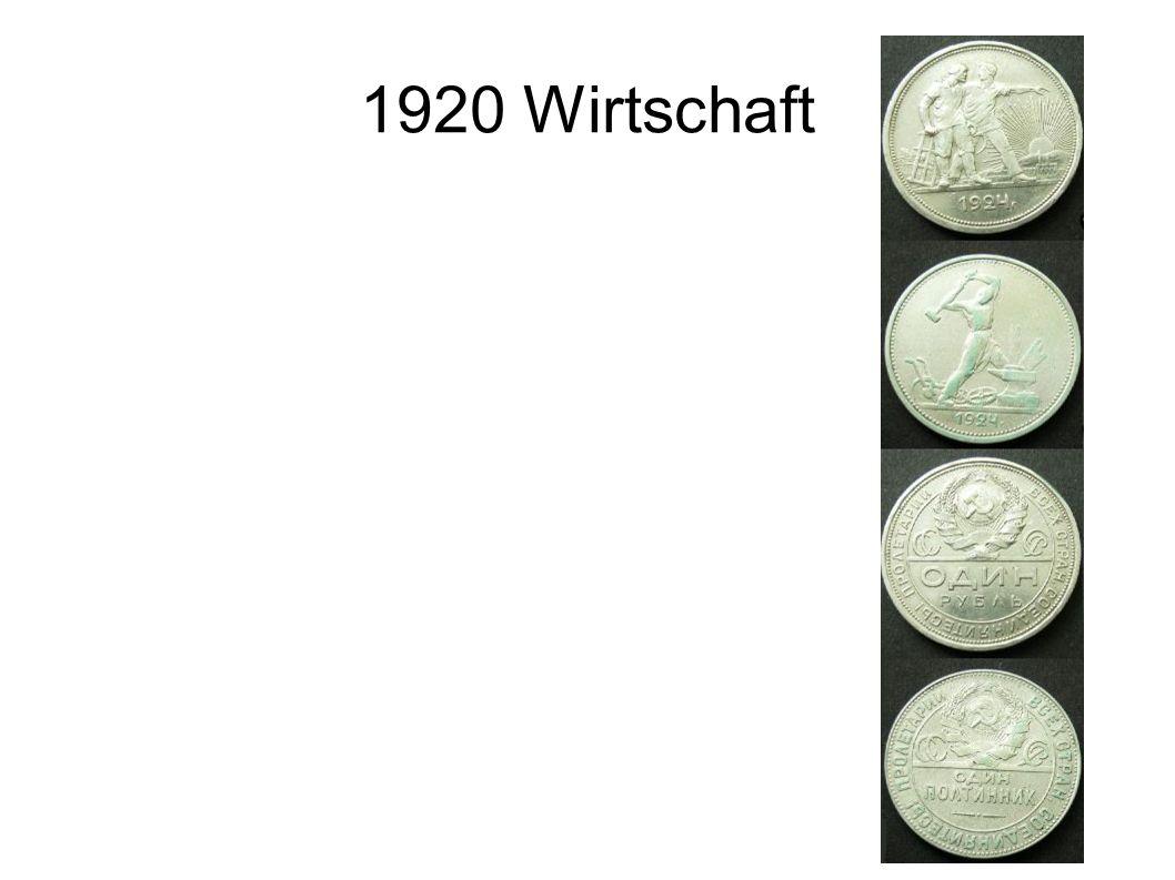 1920 Wirtschaft