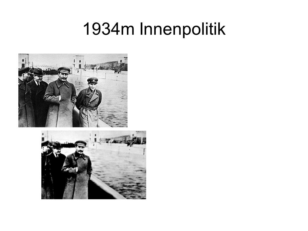 1934m Innenpolitik