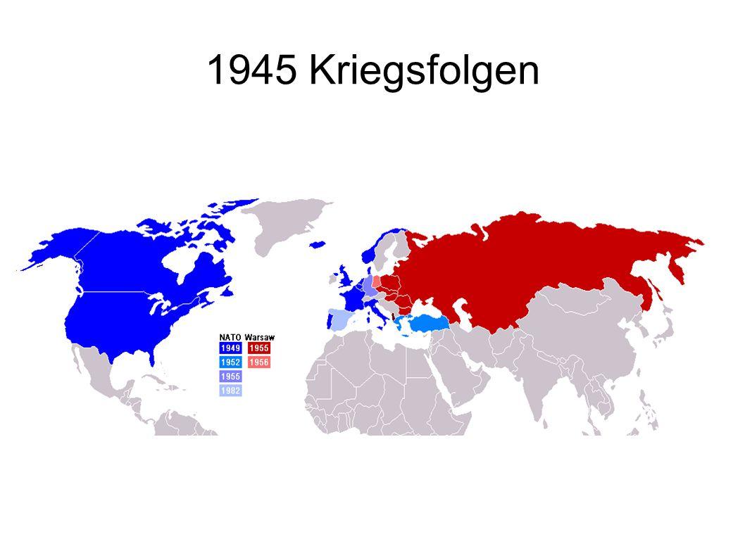 1945 Kriegsfolgen