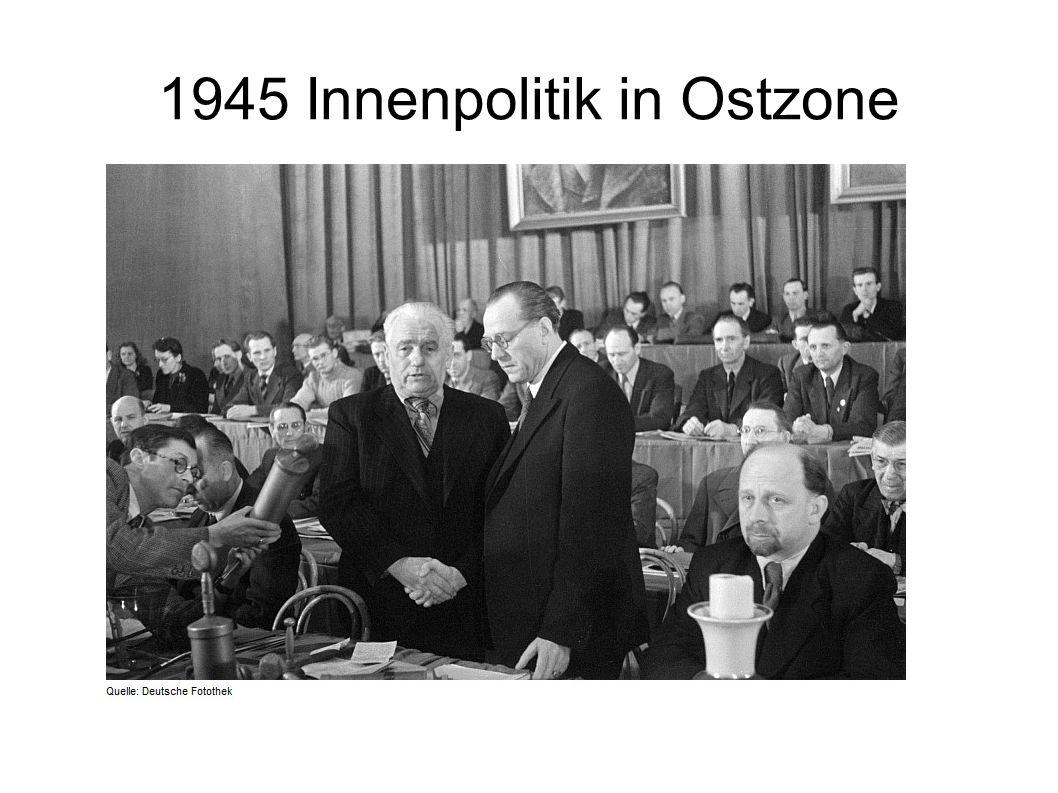 1945 Innenpolitik in Ostzone