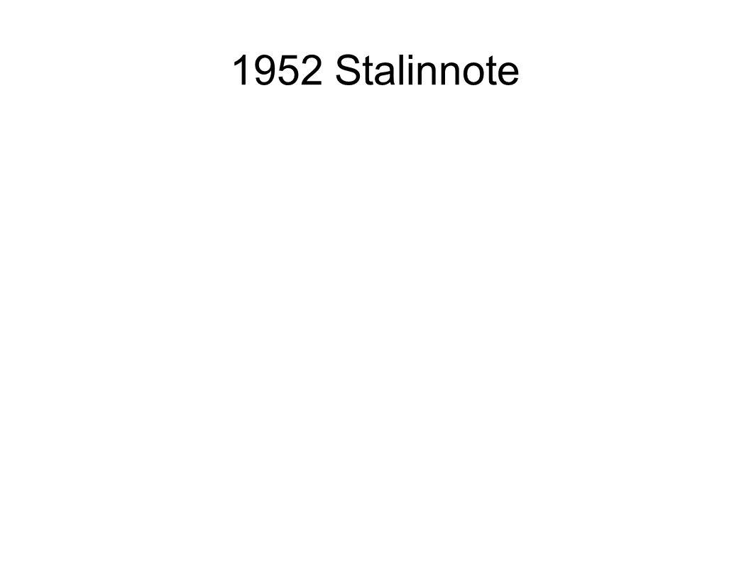 1952 Stalinnote