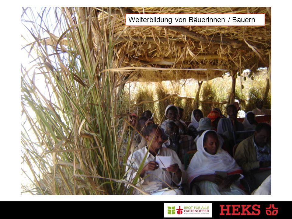 Weiterbildung von Bäuerinnen / Bauern