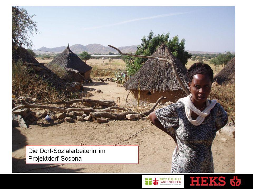 Die Dorf-Sozialarbeiterin im Projektdorf Sosona