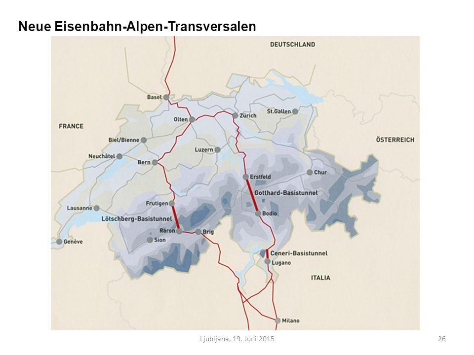 Ljubljana, 19. Juni 201526 Neue Eisenbahn-Alpen-Transversalen