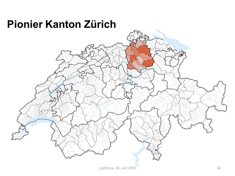 Pionier Kanton Zürich Ljubljana, 19. Juni 201542