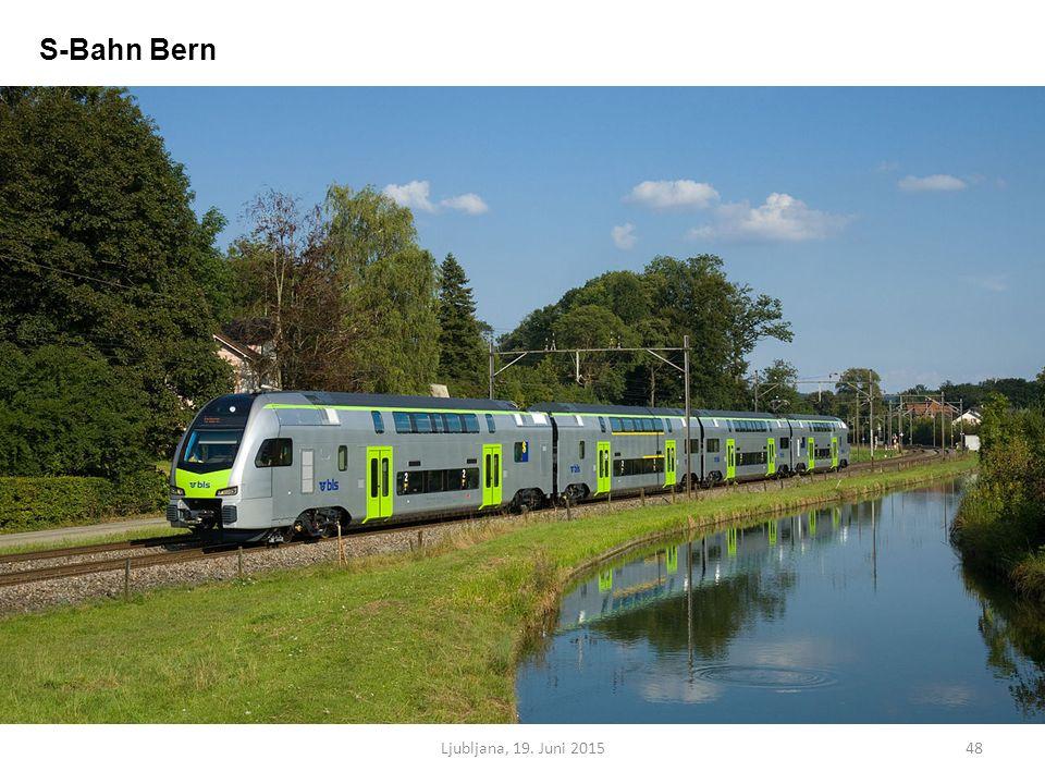Ljubljana, 19. Juni 201548 S-Bahn Bern
