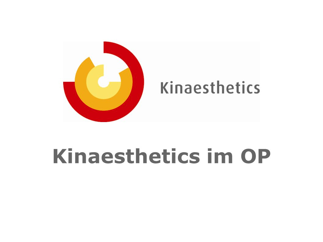 Kinaesthetics im OP