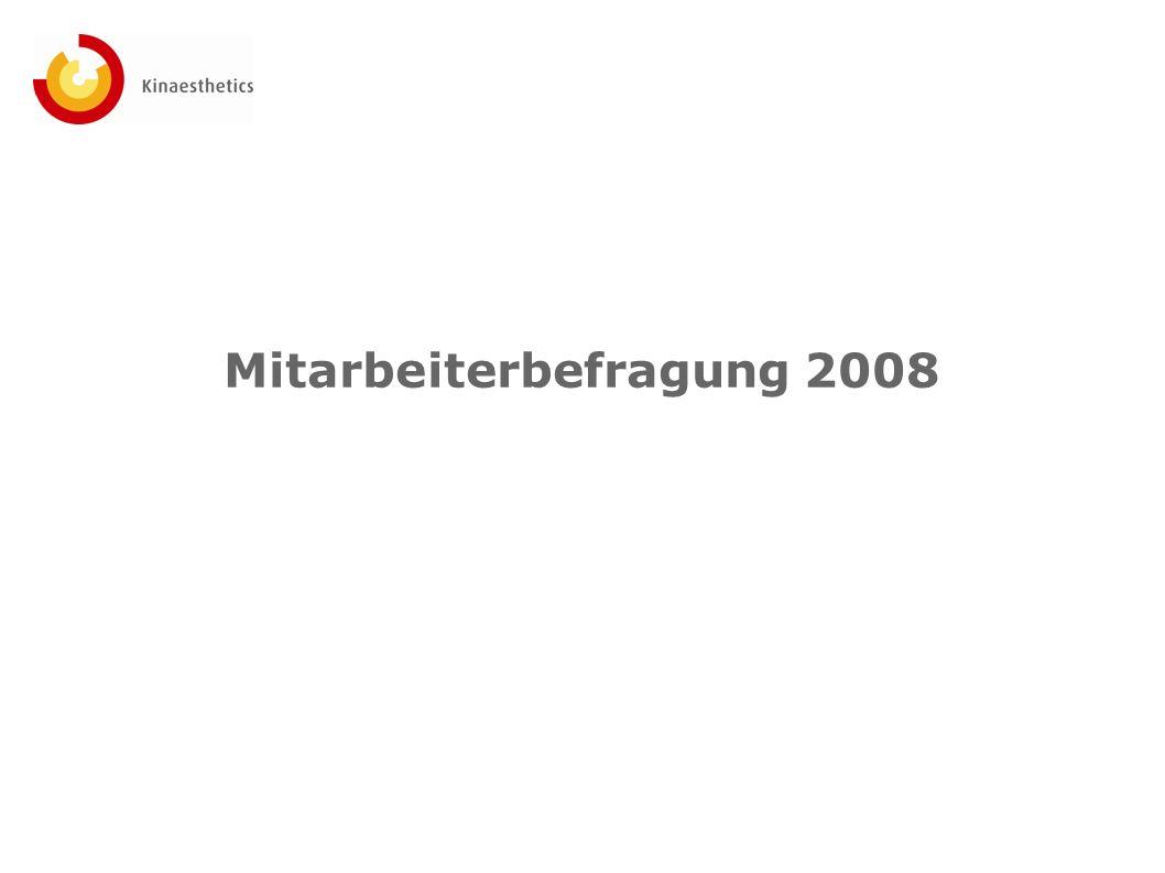 Mitarbeiterbefragung 2008