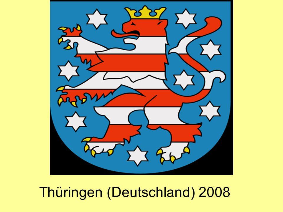 Thüringen (Deutschland) 2008
