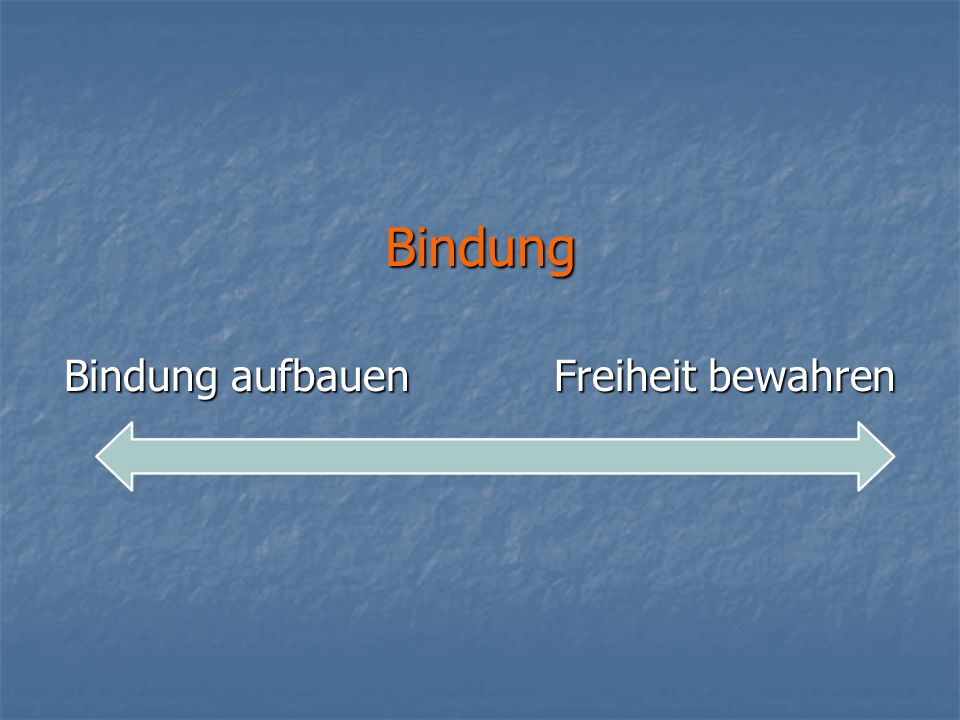 Bindungstypen Fremde-Situations-Test (Mary Ainsworth, 1978) => sicher => unsicher-ambivalent => unsicher-vermeidend
