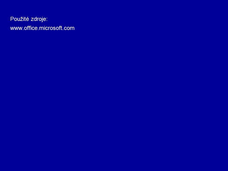 www.office.microsoft.com Použité zdroje: