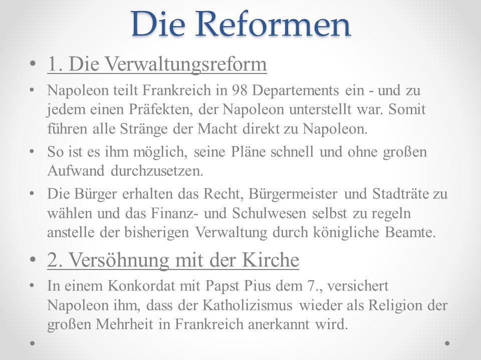 Die Reformen 1.