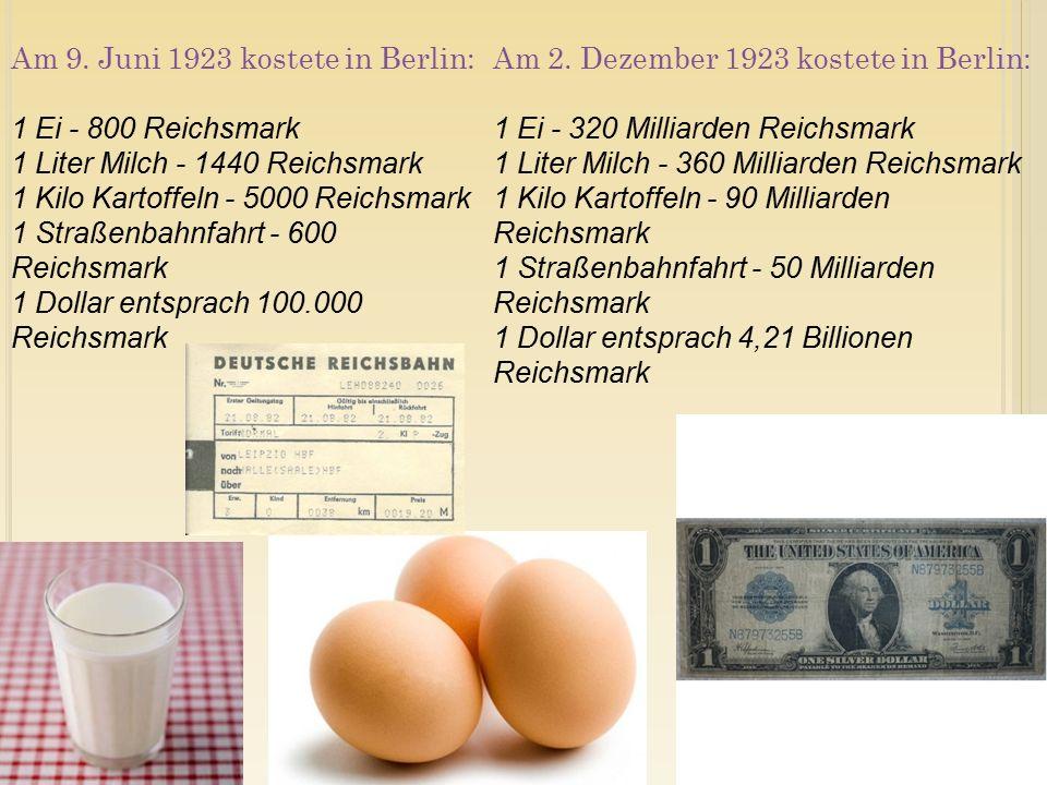 Die Inflation geht jetzt so schnell, dass die Reichsbank mit dem Drucken nicht mehr hinterherkommt.