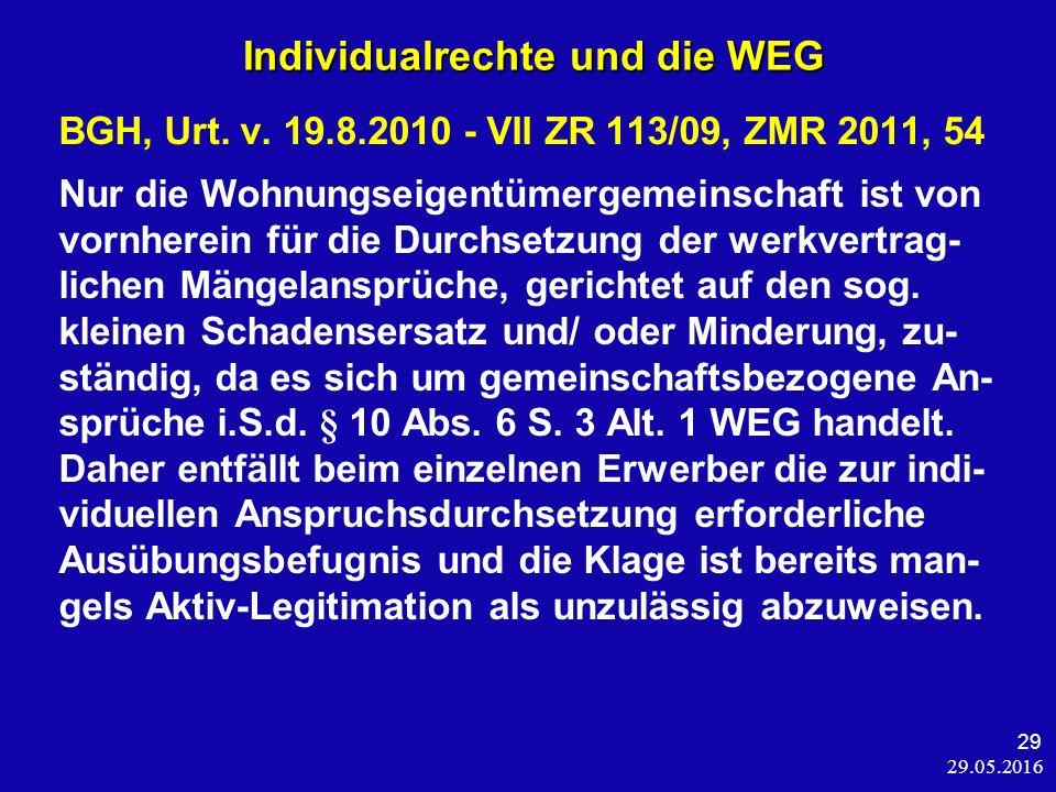 29.05.2016 29 BGH, Urt. v.