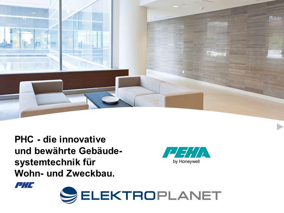 PHC - die innovative und bewährte Gebäude- systemtechnik für Wohn- und Zweckbau.