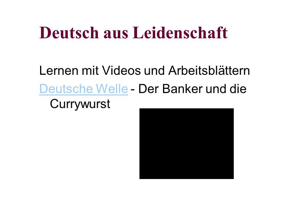 Deutsch aus Leidenschaft Lernen mit Videos und Arbeitsblättern Deutsche WelleDeutsche Welle - Der Banker und die Currywurst