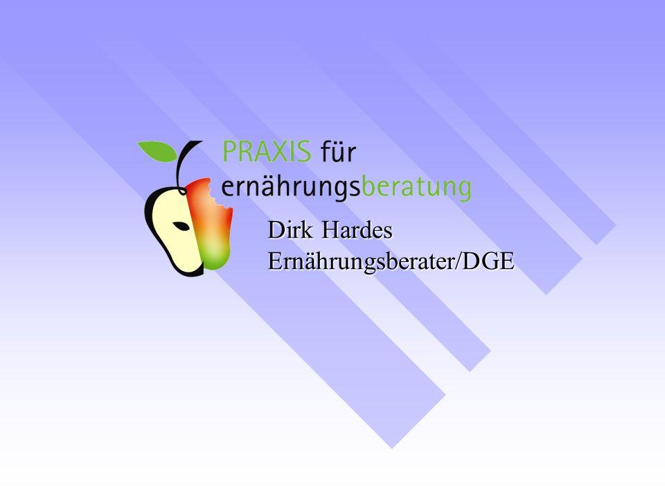 Dirk Hardes Ernährungsberater/DGE