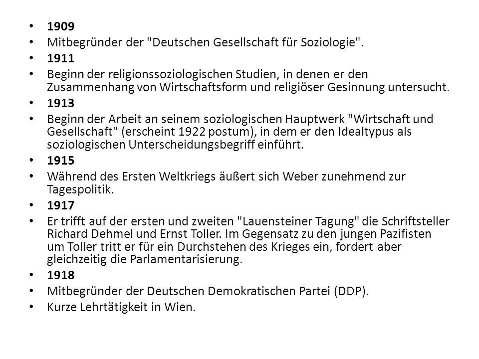 1919 Berufung nach München.