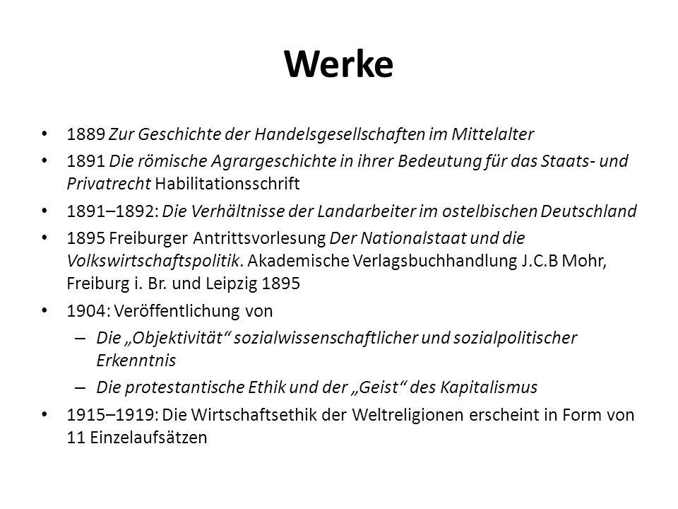 1918: Veröffentlichung der gesammelten Aufsatzreihe Parlament und Regierung im neugeordneten Deutschland.