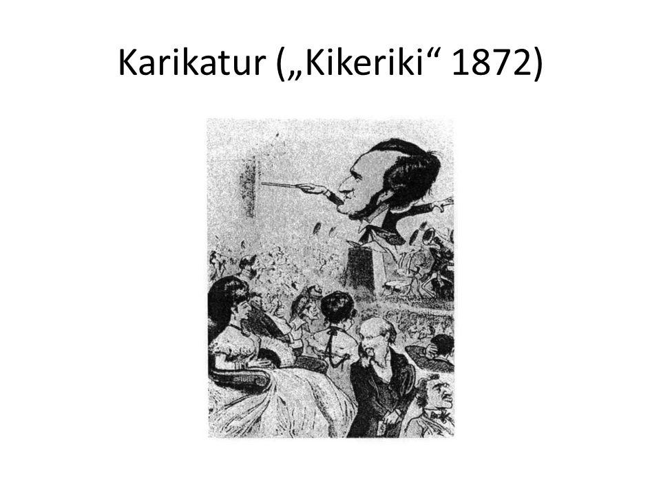 """Karikatur (""""Kikeriki 1872)"""