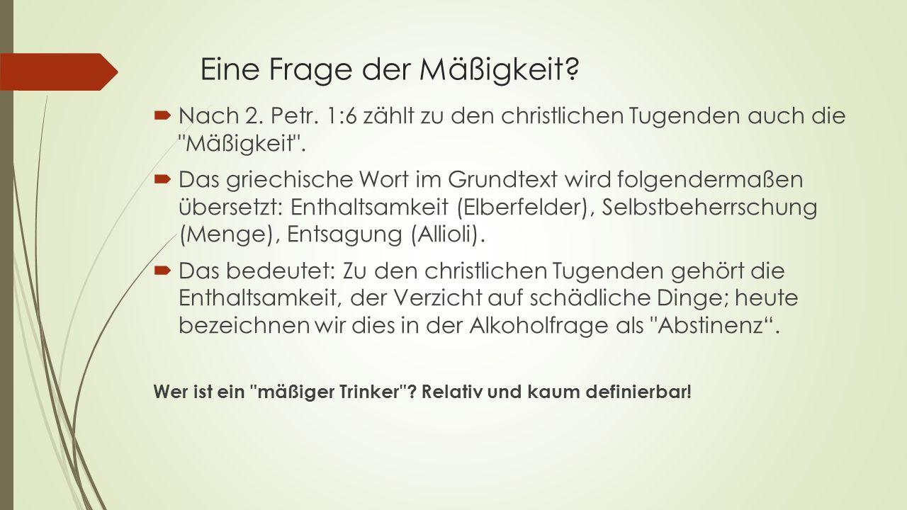 """""""Wein im Grundtext."""