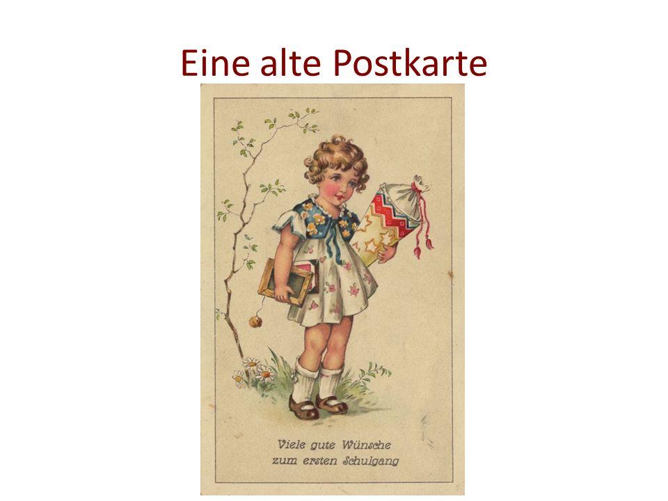 Eine alte Postkarte