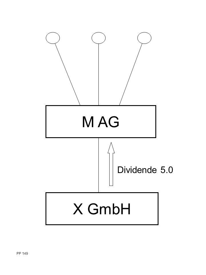 M AG X GmbH Dividende 5.0 PP 149