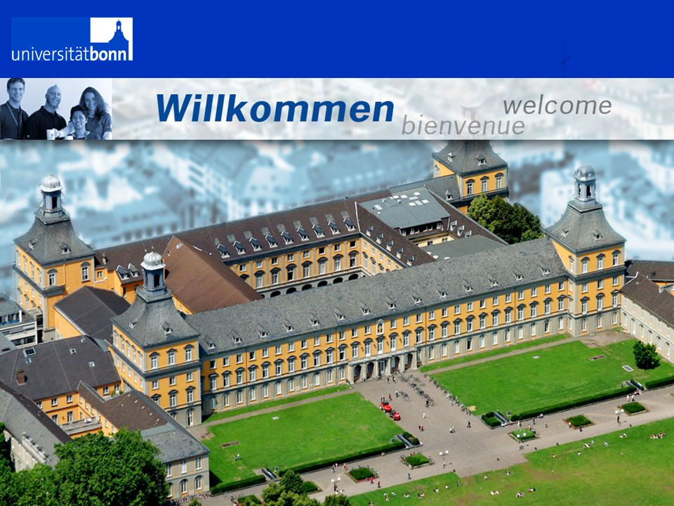 Traditionell modern Das neue Corporate Design der Universität Bonn