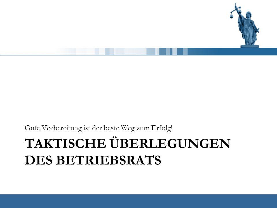 """Taktische Überlegungen für den Betriebsrat Gut vorbereitet und als echte """"Teamleistung sollte die Betriebsversammlung für den Betriebsrat gelingen."""