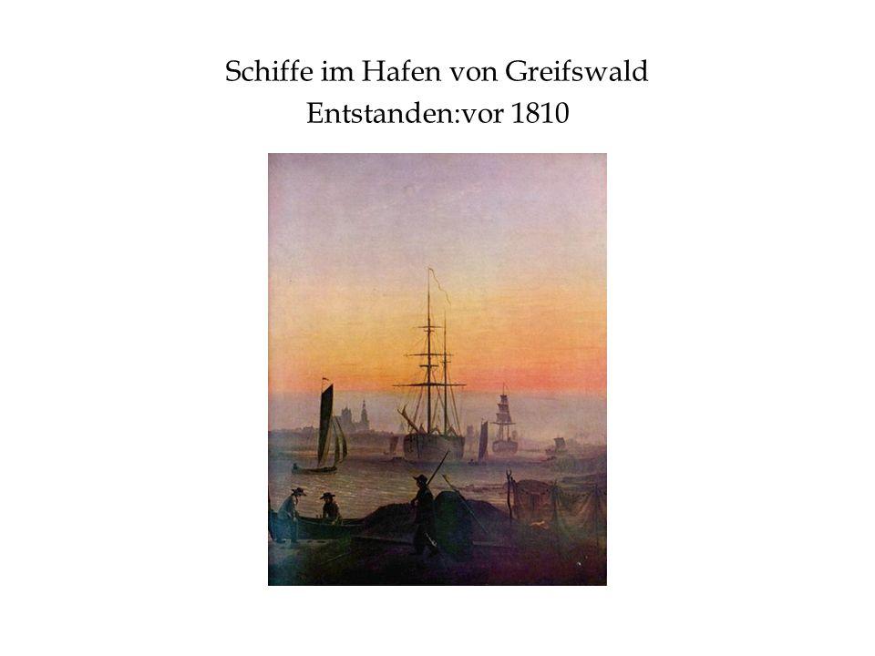 Schiffe im Hafen von Greifswald Entstanden:vor 1810