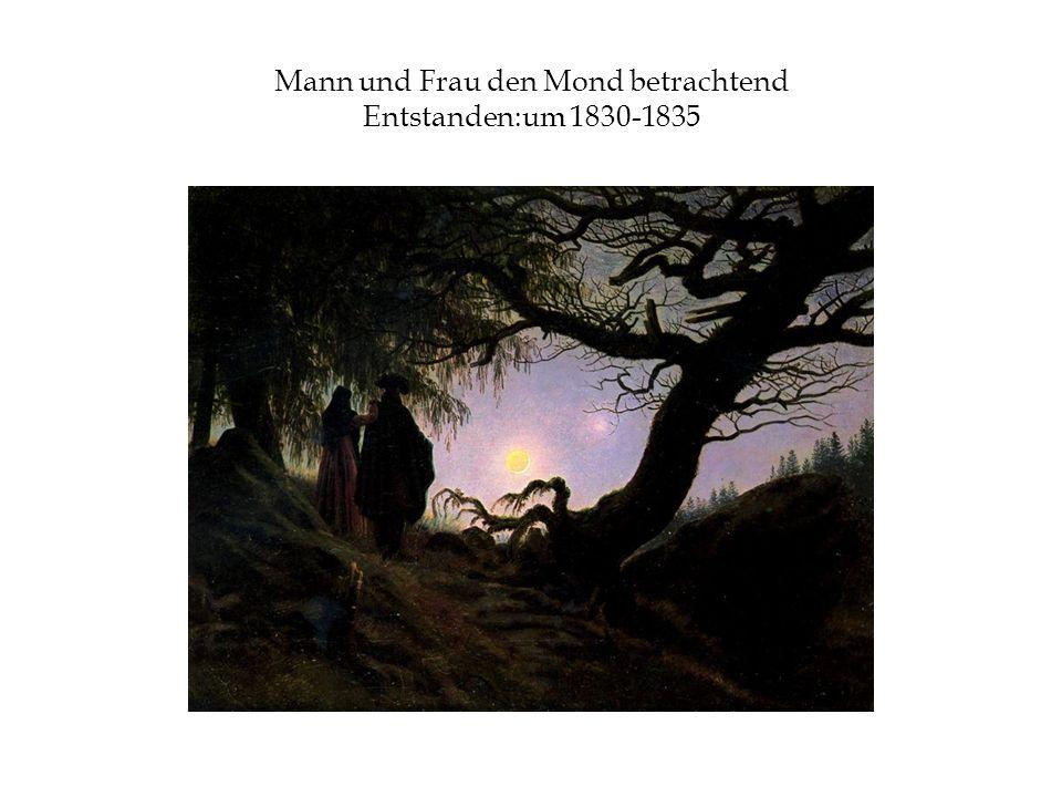 Mann und Frau den Mond betrachtend Entstanden:um 1830-1835