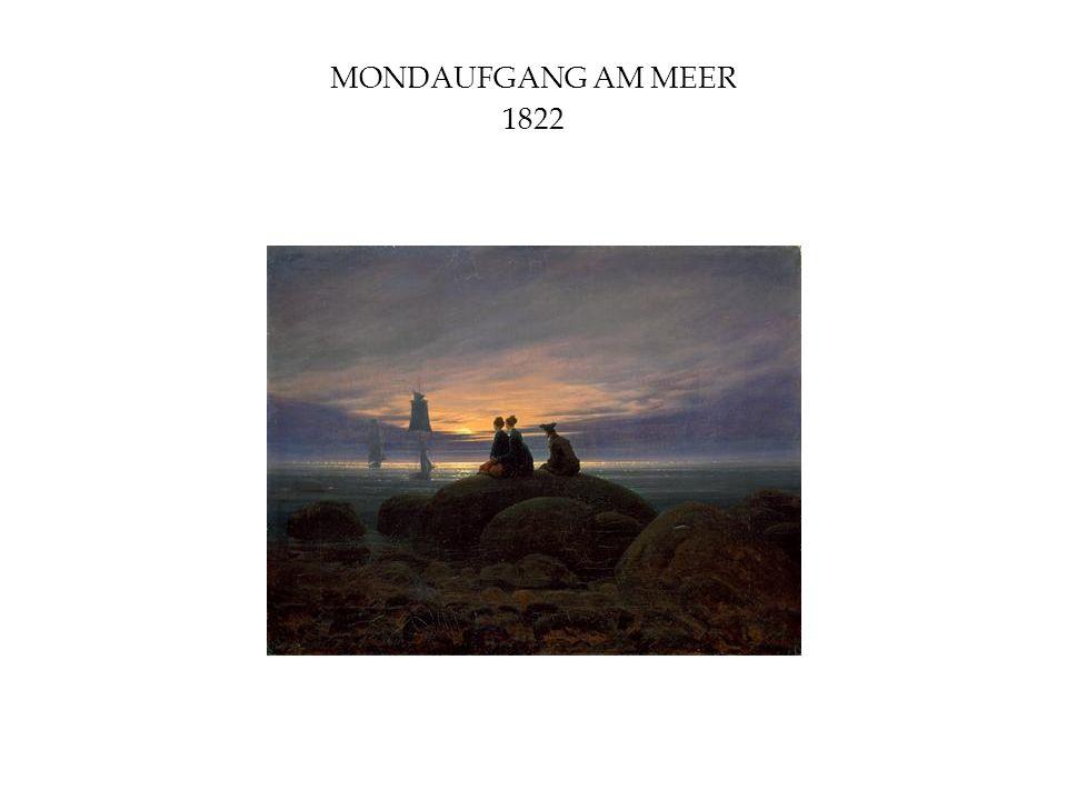 MONDAUFGANG AM MEER 1822