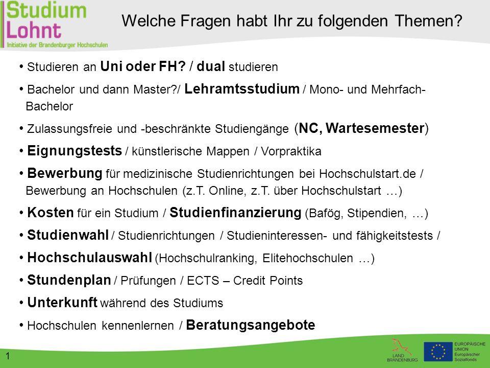2 Schulische Ausbildung an Berufsfachschule (Bsp.