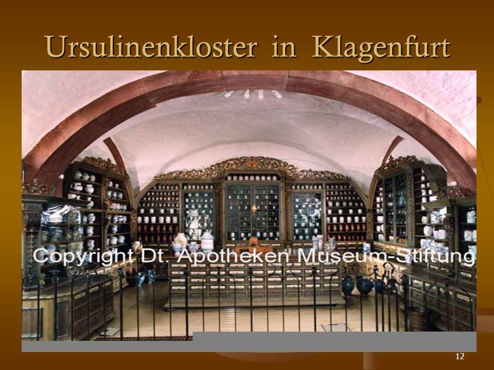 12 Ursulinenkloster in Klagenfurt