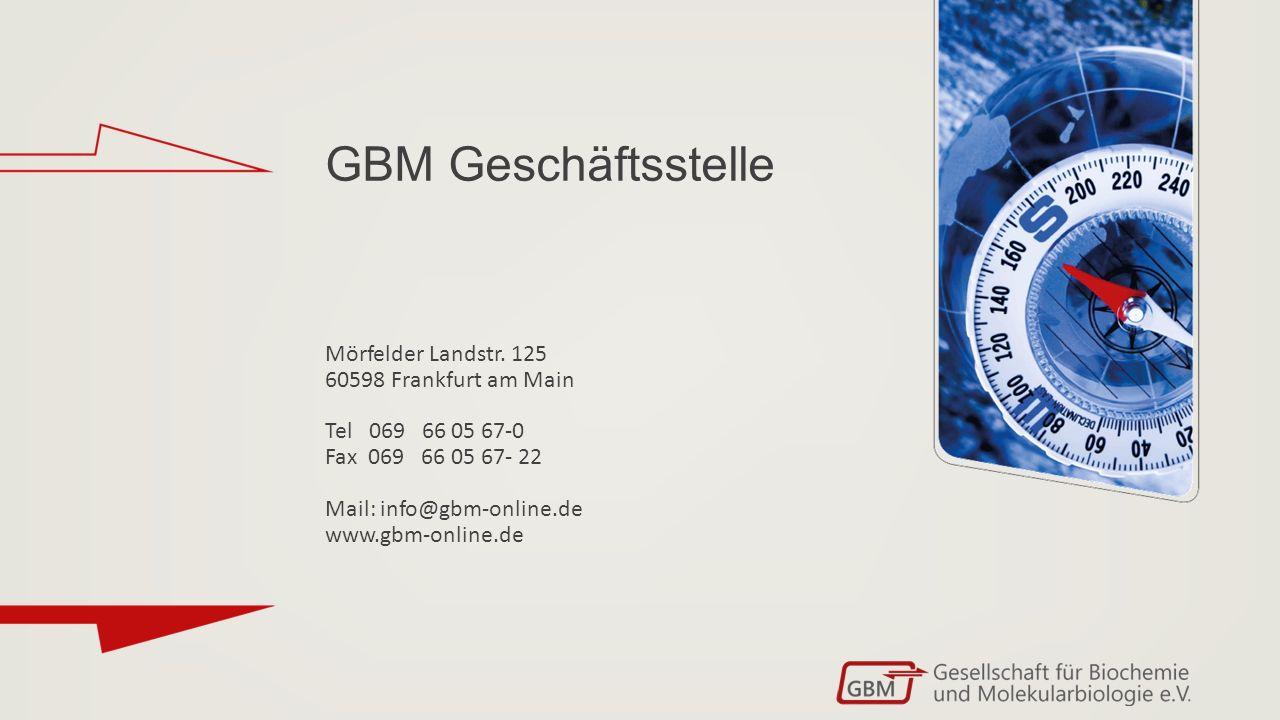 GBM Geschäftsstelle Mörfelder Landstr.