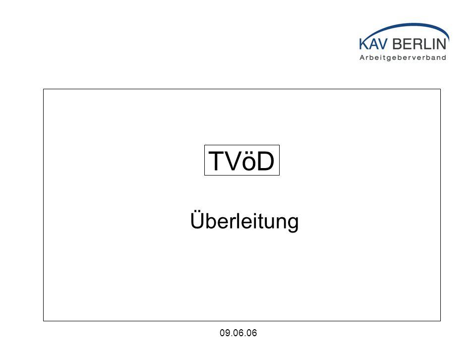 09.06.06 TVöD Überleitung