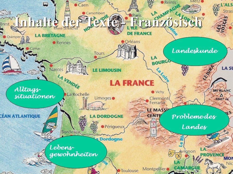 Übergeordnetes Lernziel beider Sprachen Vermittlung von Schlüsselqualifikationen: Methodenkompetenz Mehrsprachigkeit Teamfähigkeit
