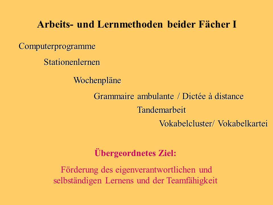 Für wen.- -für Schüler der franz. Sprache (als 2.