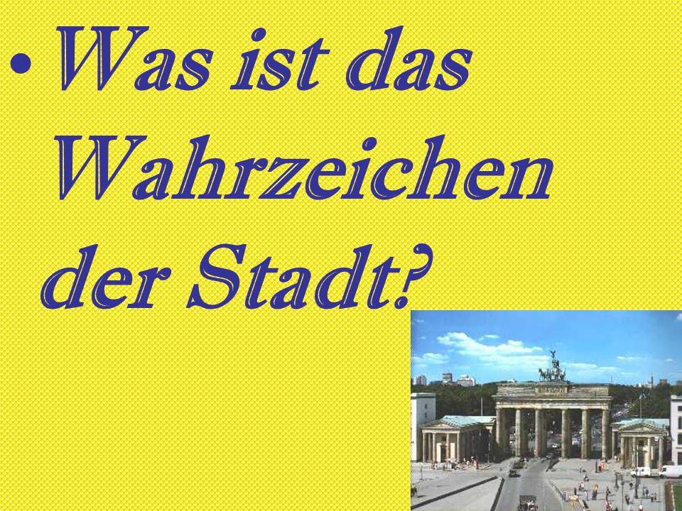 An welchem Fluss liegt Berlin