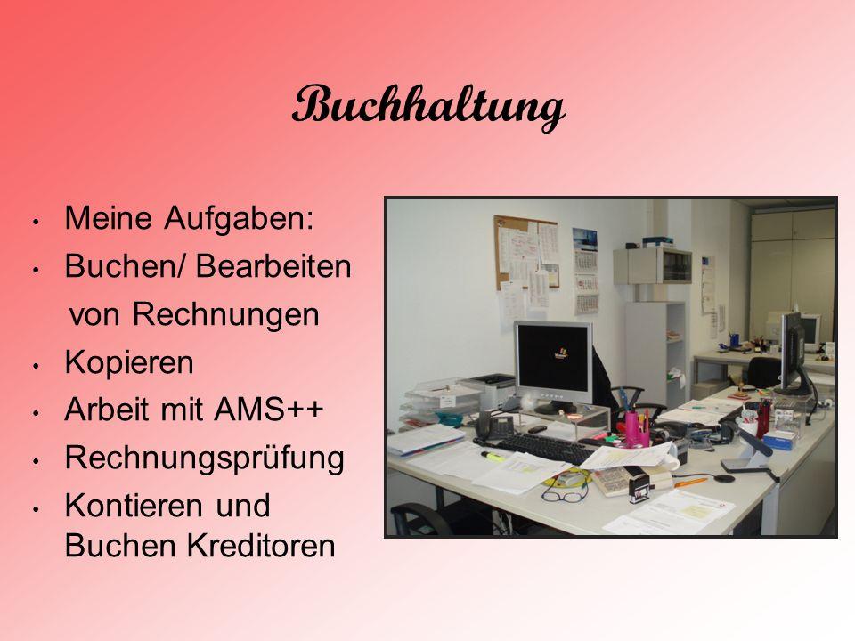 Projektmanagement Es gab vier Gruppen im Projektmanagement.