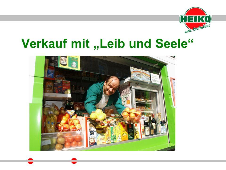 """Verkauf mit """"Leib und Seele"""