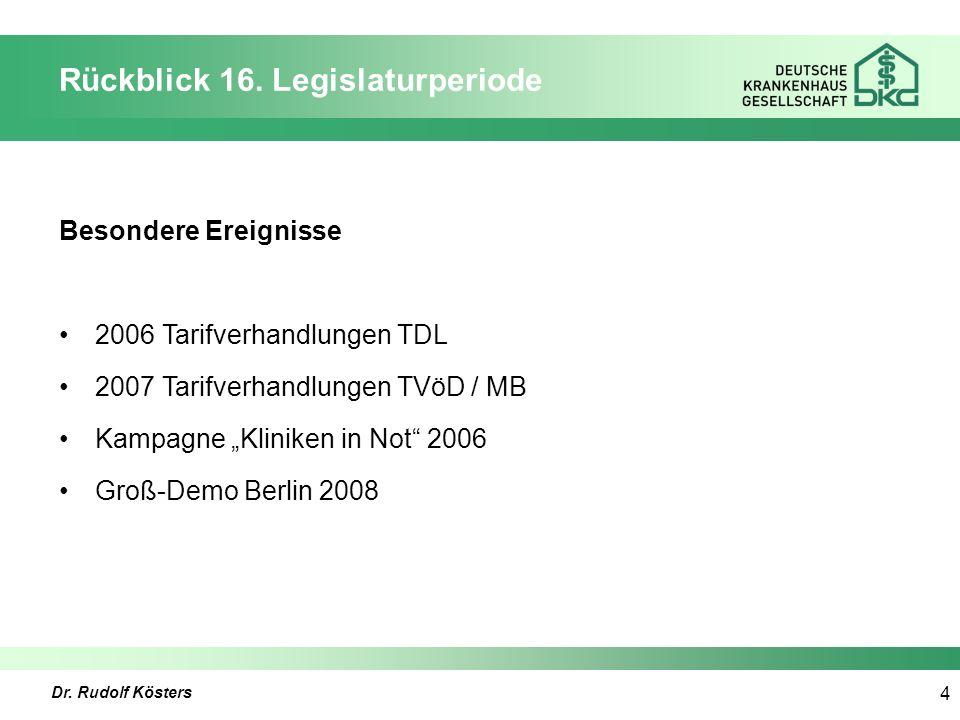 Dr. Rudolf Kösters 4 Rückblick 16.